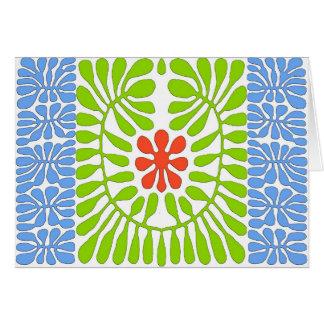 Hibiscus, folha da homenagem de Matisse Cartão