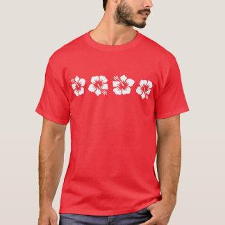 Hibiscus havaiano tropical camiseta