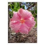 Hibiscus híbrido havaiano cartão