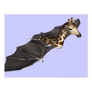 Híbrido do girafa do bastão cartão postal