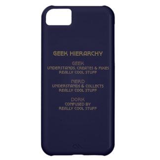 Hierarquia do geek capa para iPhone 5C