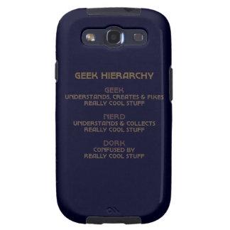 Hierarquia do geek capa personalizadas samsung galaxy s3