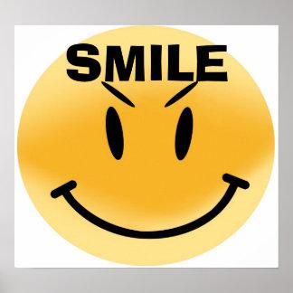 highres_smiley_str, SORRISO Poster