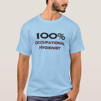 Higienista ocupacional de 100 por cento camiseta