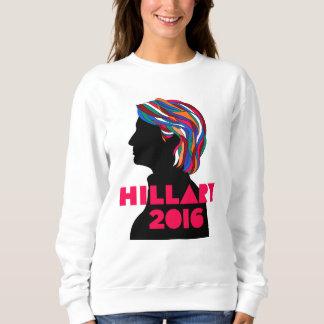 Hillary 2016: A camisola retro das mulheres do Moletom