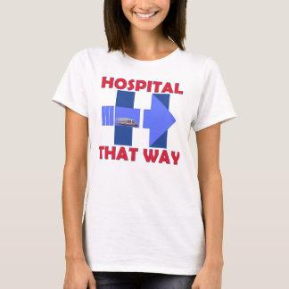Hillary ao t-shirt do hospital camiseta