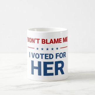 Hillary Clinton, caneca de café do Anti-Trunfo