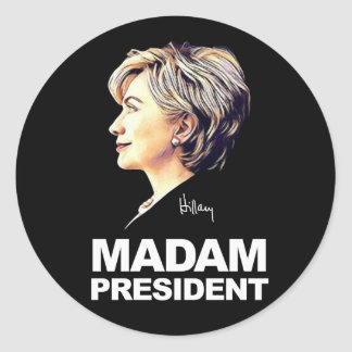 "Hillary Clinton ""senhora presidente"" etiqueta"