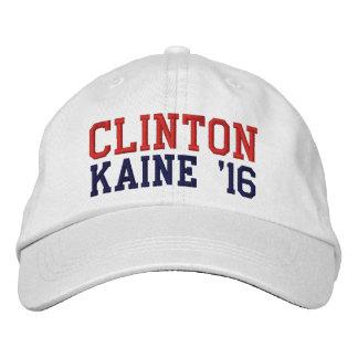 Hillary Clinton Tim Kaine 2016 Boné Bordado