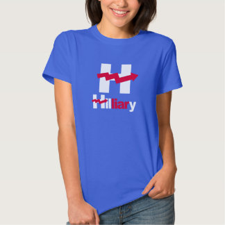 HILLARY CURVADA É um MENTIROSO - - Anti-Hillary -- T-shirt