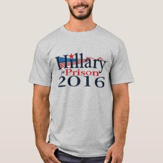 Hillary para a camisa 2016 da prisão