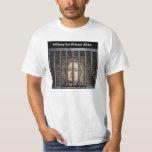 Hillary para a prisão 2016 tshirts