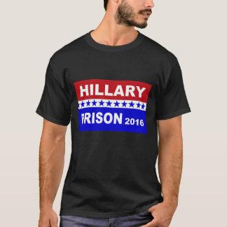 Hillary para camiseta de Hillary da prisão 2016 a