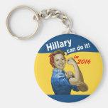 Hillary pode fazê-lo 2016 chaveiro