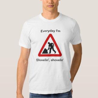 Hino do trabalho do partido tshirts