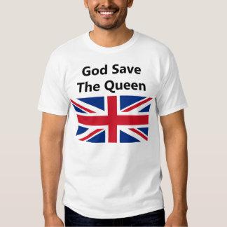 Hino nacional do Reino Unido Tshirt