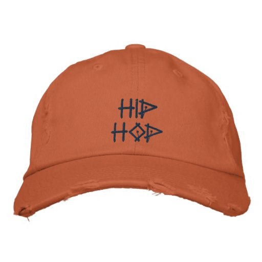 Hip Hop Boné Bordado