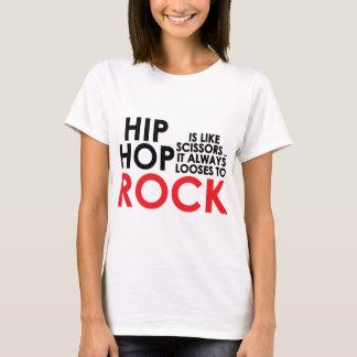 Hip Hop contra a rocha Camiseta