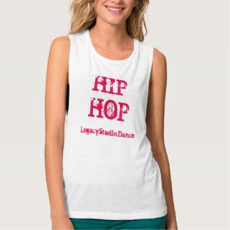 Hip Hop na camisa do músculo do legado