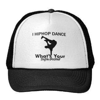 Hip Hop que dança o design Bone