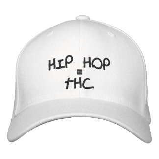 HIP HOP, =, THC BONÉ BORDADO