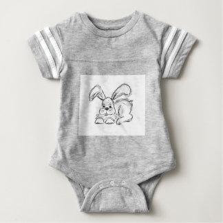 Hip Hop, um coelho de coelho Body Para Bebê