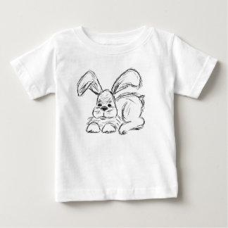 Hip Hop, um coelho de coelho Camiseta Para Bebê