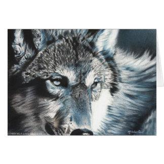 Hipnótico - cartão do lobo