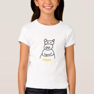 hipopótamo [1], hipopótamo camisetas