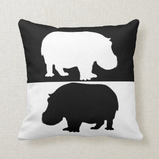 hipopótamo almofada