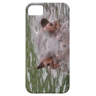 Hipopótamo Capa Para iPhone 5