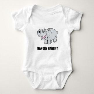 Hipopótamo de Hangry Body Para Bebê