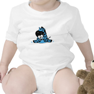 Hipopótamo do bebê macacãozinho para bebê