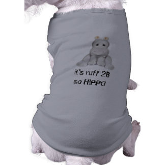 hipopótamo do quadril 2 B Roupa Para Cães