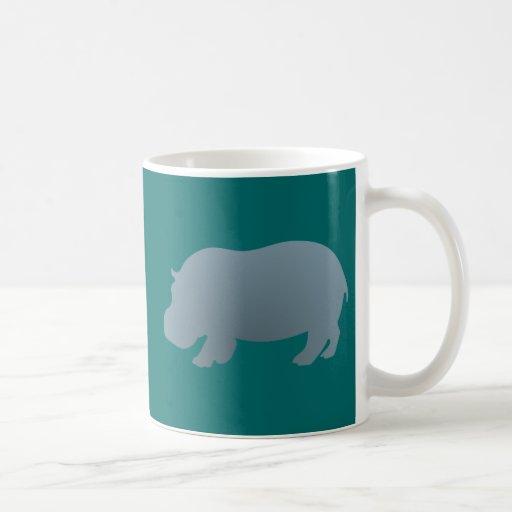 Hipopótamo hippo hippopotamus canecas