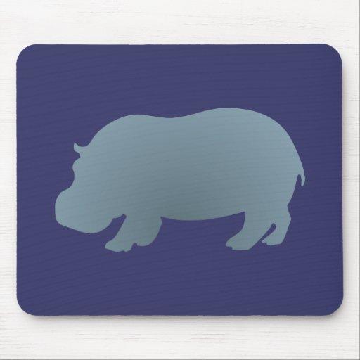 Hipopótamo hippo hippopotamus mousepads