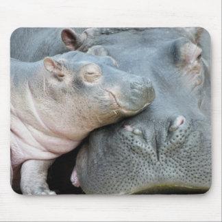 Hipopótamo Mouse Pad