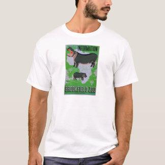 Hipopótamos no jardim zoológico de Brookfield! Camiseta