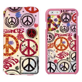 Hippie da paz & do amor de flower power