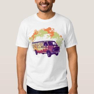 Hippie Van de Chevy dos anos 70 T-shirts