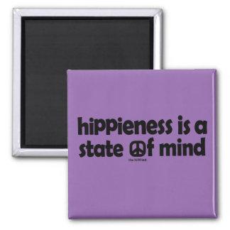 Hippieness é um estado de ânimo imã