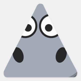 hippo-3087 adesivo triangular