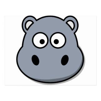 hippo-3087 cartão postal