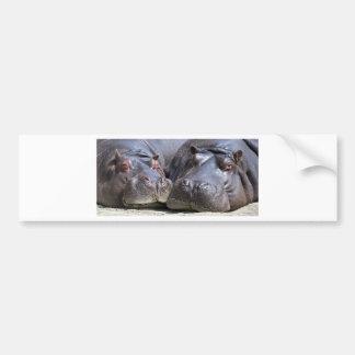 hippo-783 adesivo para carro
