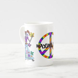 Hippy estrangeiro bone china mug