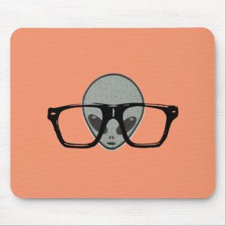 Hipster estrangeiro Mousepad