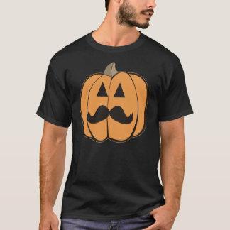 Hipster Jack O'Lantern do Dia das Bruxas com Camiseta