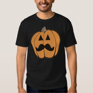 Hipster Jack O'Lantern do Dia das Bruxas com T-shirts