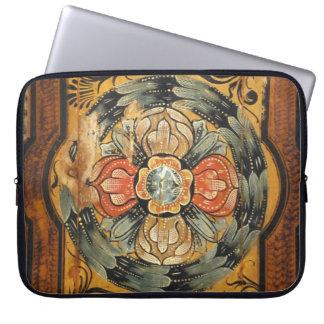 hist gótico velho do vintage de madeira medieval bolsas e capas para computadores