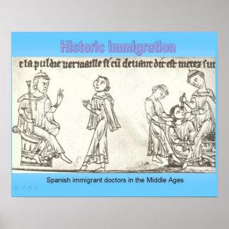 História, cidadania, imigração histórica posters